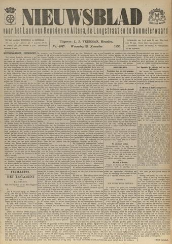 Nieuwsblad het land van Heusden en Altena de Langstraat en de Bommelerwaard 1920-11-24