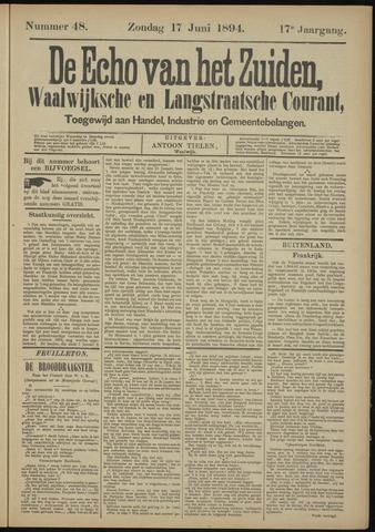 Echo van het Zuiden 1894-06-17