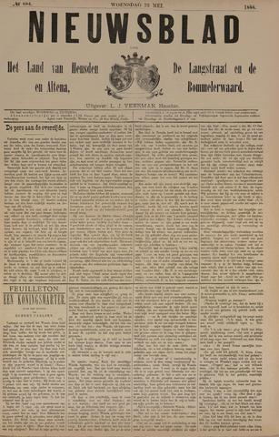 Nieuwsblad het land van Heusden en Altena de Langstraat en de Bommelerwaard 1888-05-23