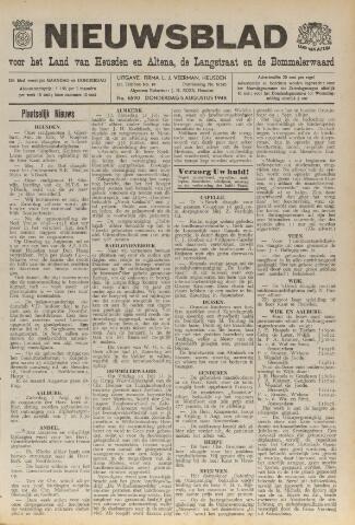 Nieuwsblad het land van Heusden en Altena de Langstraat en de Bommelerwaard 1948-08-05