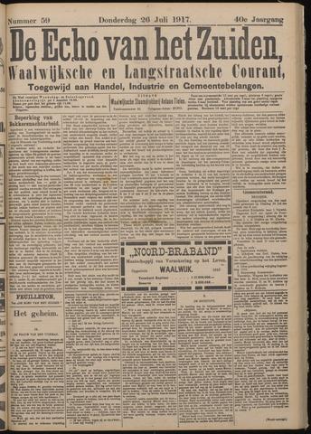Echo van het Zuiden 1917-07-26