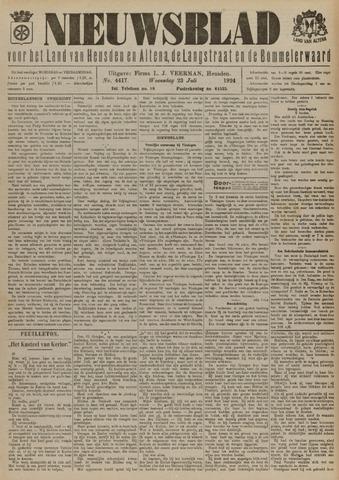 Nieuwsblad het land van Heusden en Altena de Langstraat en de Bommelerwaard 1924-07-23