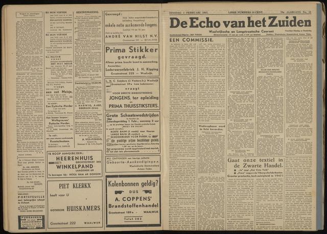 Echo van het Zuiden 1947-02-04