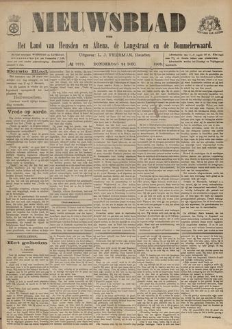 Nieuwsblad het land van Heusden en Altena de Langstraat en de Bommelerwaard 1903-12-24