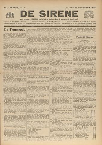 De Sirene 1945-11-23