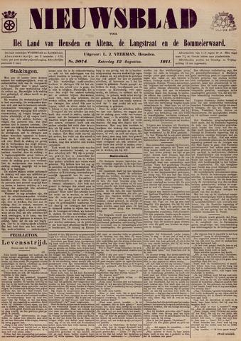 Nieuwsblad het land van Heusden en Altena de Langstraat en de Bommelerwaard 1911-08-12