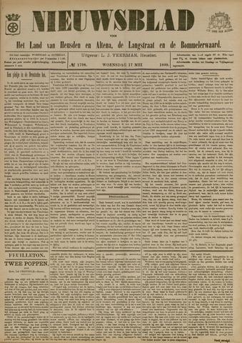 Nieuwsblad het land van Heusden en Altena de Langstraat en de Bommelerwaard 1899-05-17