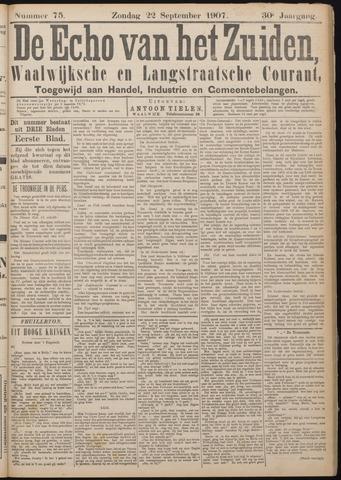 Echo van het Zuiden 1907-09-22