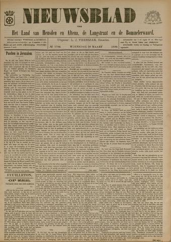 Nieuwsblad het land van Heusden en Altena de Langstraat en de Bommelerwaard 1899-03-29