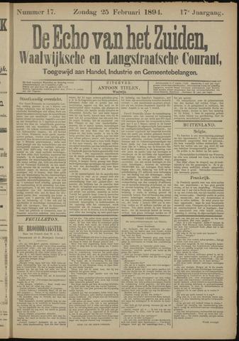 Echo van het Zuiden 1894-02-25