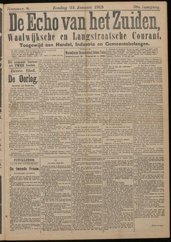 Echo van het Zuiden 1915-01-24