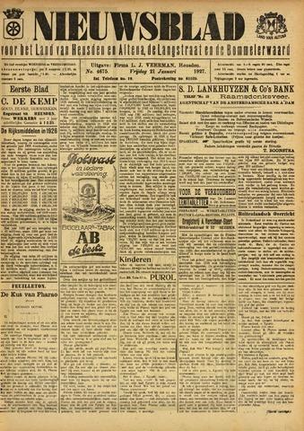 Nieuwsblad het land van Heusden en Altena de Langstraat en de Bommelerwaard 1927-01-21