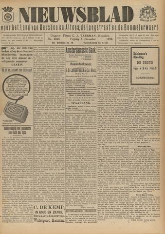 Nieuwsblad het land van Heusden en Altena de Langstraat en de Bommelerwaard 1922-12-08