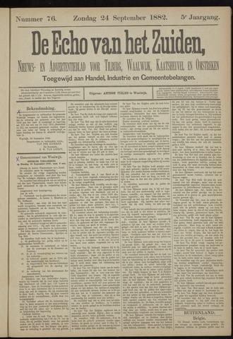 Echo van het Zuiden 1882-09-24