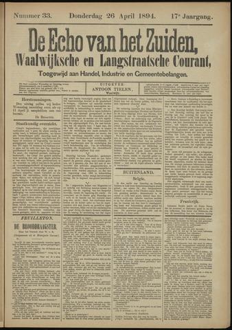 Echo van het Zuiden 1894-04-26