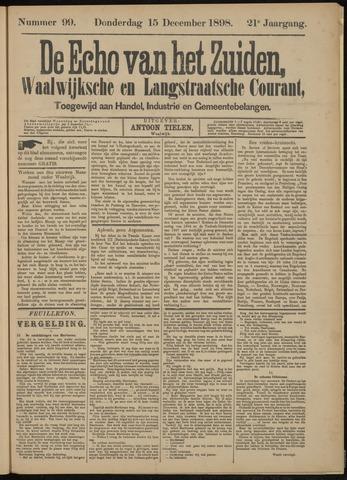 Echo van het Zuiden 1898-12-15