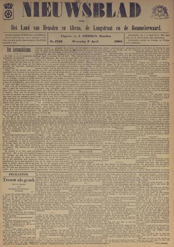 Nieuwsblad het land van Heusden en Altena de Langstraat en de Bommelerwaard 1908-04-08