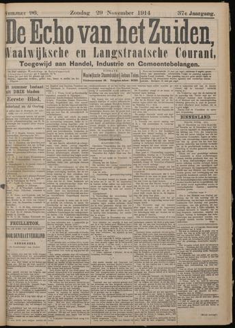 Echo van het Zuiden 1914-11-29