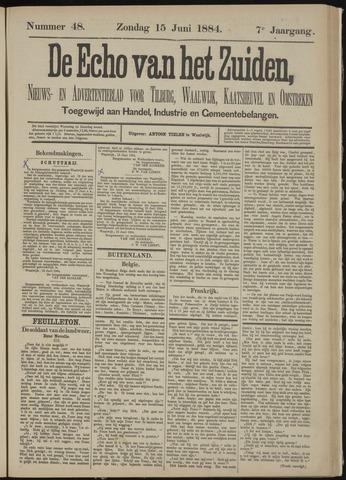 Echo van het Zuiden 1884-06-15