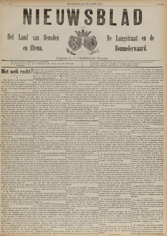 Nieuwsblad het land van Heusden en Altena de Langstraat en de Bommelerwaard 1890-01-15