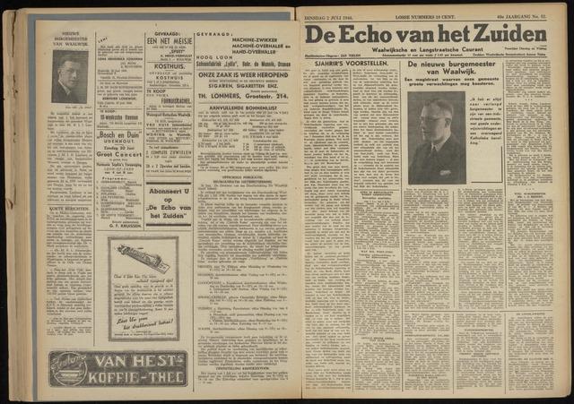Echo van het Zuiden 1946-07-02