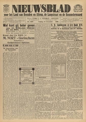 Nieuwsblad het land van Heusden en Altena de Langstraat en de Bommelerwaard 1932-11-18