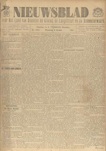 Nieuwsblad het land van Heusden en Altena de Langstraat en de Bommelerwaard 1917-10-03