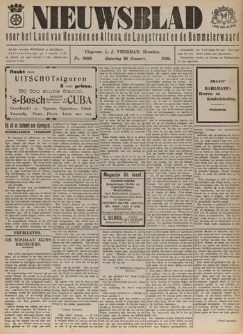 Nieuwsblad het land van Heusden en Altena de Langstraat en de Bommelerwaard 1920-01-24
