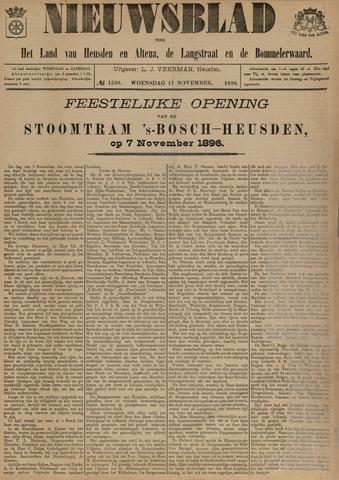 Nieuwsblad het land van Heusden en Altena de Langstraat en de Bommelerwaard 1896-11-11