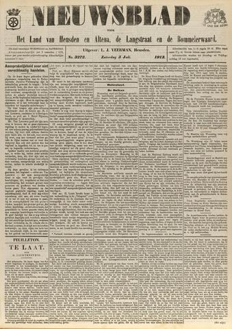 Nieuwsblad het land van Heusden en Altena de Langstraat en de Bommelerwaard 1913-07-05