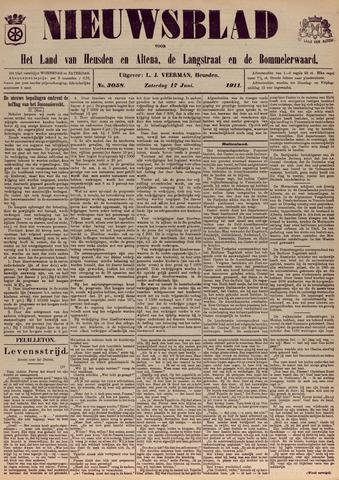 Nieuwsblad het land van Heusden en Altena de Langstraat en de Bommelerwaard 1911-06-17