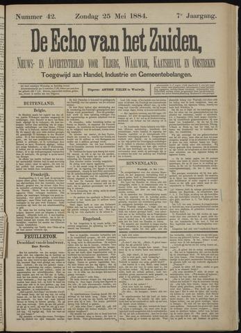 Echo van het Zuiden 1884-05-25