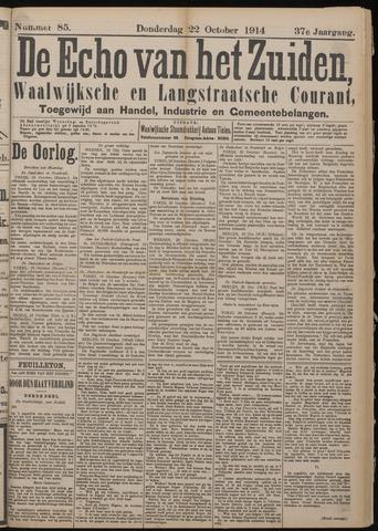 Echo van het Zuiden 1914-10-22