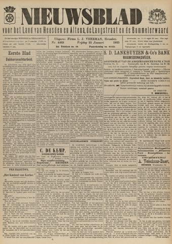 Nieuwsblad het land van Heusden en Altena de Langstraat en de Bommelerwaard 1925-01-23