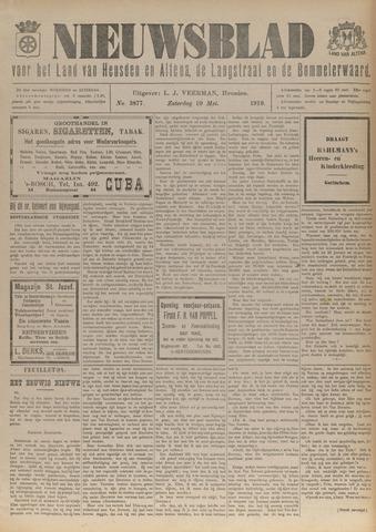 Nieuwsblad het land van Heusden en Altena de Langstraat en de Bommelerwaard 1919-05-10