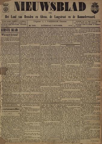 Nieuwsblad het land van Heusden en Altena de Langstraat en de Bommelerwaard 1893-10-07