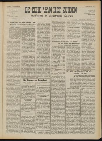 Echo van het Zuiden 1953-11-16