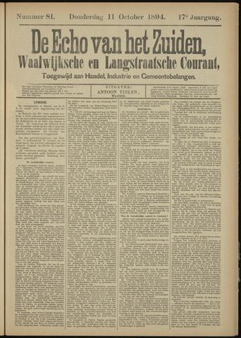 Echo van het Zuiden 1894-10-11