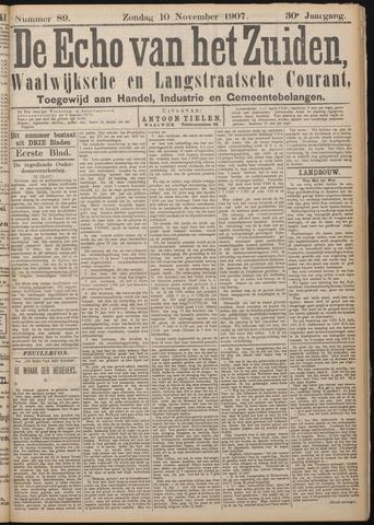 Echo van het Zuiden 1907-11-10