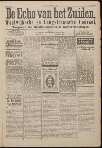 Echo van het Zuiden 1922-12-23
