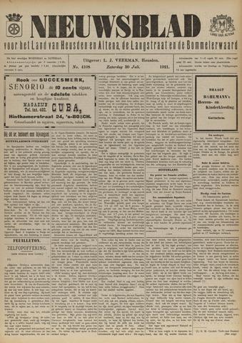 Nieuwsblad het land van Heusden en Altena de Langstraat en de Bommelerwaard 1921-07-30
