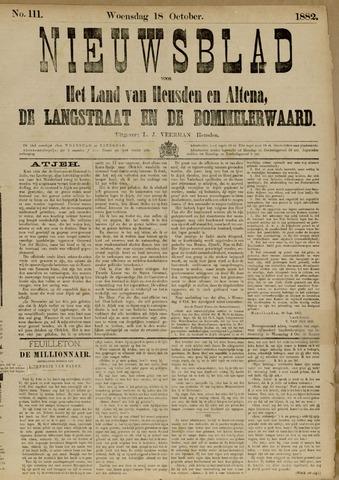 Nieuwsblad het land van Heusden en Altena de Langstraat en de Bommelerwaard 1882-10-18