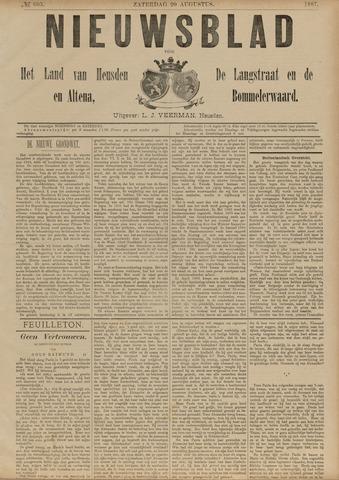 Nieuwsblad het land van Heusden en Altena de Langstraat en de Bommelerwaard 1887-08-20