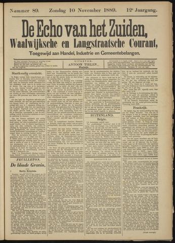 Echo van het Zuiden 1889-11-10