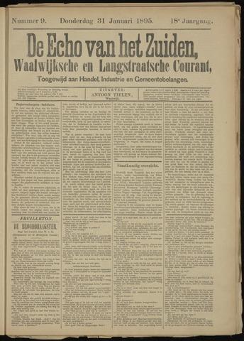 Echo van het Zuiden 1895-01-31