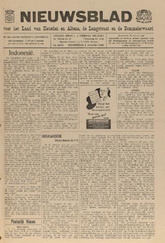 Nieuwsblad het land van Heusden en Altena de Langstraat en de Bommelerwaard 1949-01-06