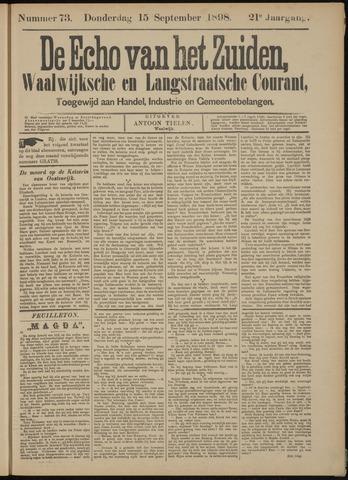 Echo van het Zuiden 1898-09-15