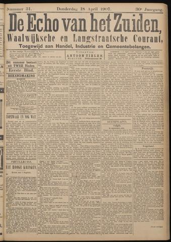 Echo van het Zuiden 1907-04-18