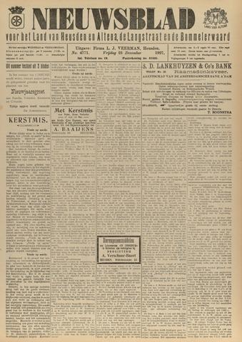 Nieuwsblad het land van Heusden en Altena de Langstraat en de Bommelerwaard 1927-12-23
