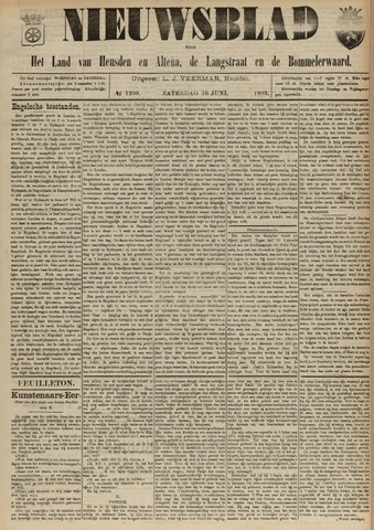 Nieuwsblad het land van Heusden en Altena de Langstraat en de Bommelerwaard 1893-06-10
